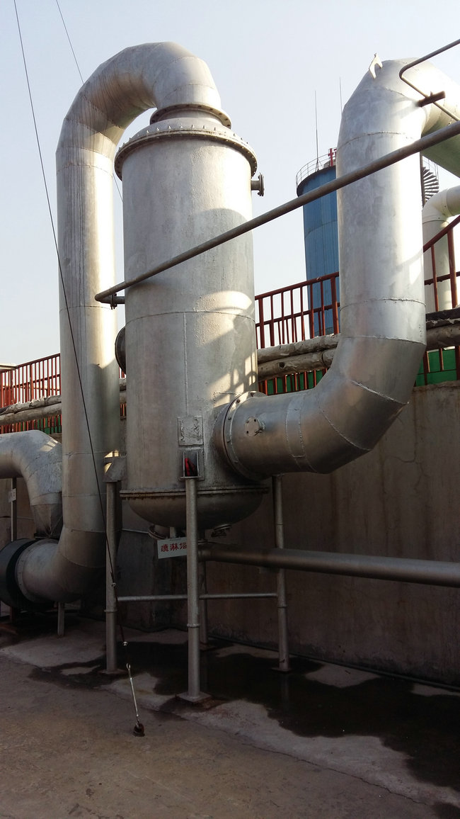 污水气味回收喷淋处理塔