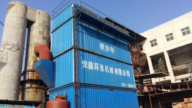 15吨高效蒸汽锅炉布袋除尘设施