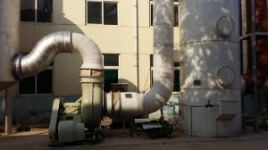 发酵车间尾气碱液喷淋处理设施