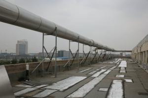 Fermentation plant tail gas recovery unit